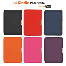 Slim Magnet PU Leather Case Cover for Amazon Kindle Paperwhite Auto Sleep Wake
