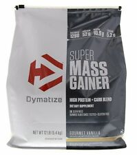 Dymatize SUPER MASS GAINER High Calorie Whey Protein BCAA Creatine 12 lbs
