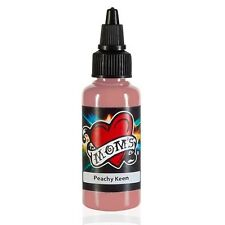 MOMS MILLENNIUM TATTOO INK PEACHY KEEN Bright Vibrant Color (2 Sizes Avail)