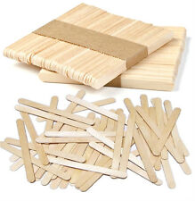 Natural Wooden Lollipop Ice Lolly Sticks Arts, Craft, Models, Various Quantities