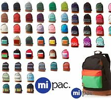 New Mi Pac Backpack, Retro Rucksack Bag, School Bag Mi Pac - AUTHENTIC