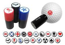 ASBRI GOLF BALL STAMPER, GOLF BALL MARKER - GOLF GIFT OR PRIZE