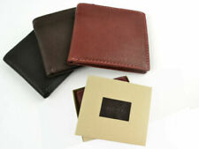 NEW Mens TOP Quality LEATHER WALLET by MALA Gift Boxed TOPAZ Series 3 Colours