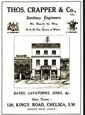 Edwardian Thomas Crapper Toilet Showroom Poster A3 / A2 Print