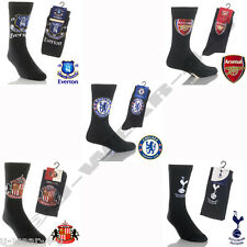 3 MENS FOOTBALL TEAM SOCKS 6-11 CHELSEA ARSENAL LIVERPOOL MANCHESTER MAN UNITED