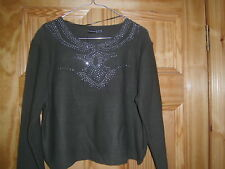 Primark - Ladies Jumper - Olive/Khaki Green - Size 14-20 - New with tags