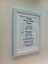 White Photo Picture Frame 28mm (mount) 12x16 A3 12x12 11x14 11x15