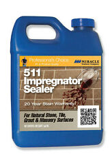 Miracle Sealant 511 Impregnator Tile & Stone Penetrating Sealer  Gallon