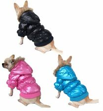 Trendy Puffed Water Proof & Cold Proof Dog Coat *Many Colours & Sizes*