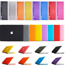 """Laptop Rubber Hard Cover Case+Keyboard Skin For Mac Book Pro 13. 3"""" / 13"""" A1278"""