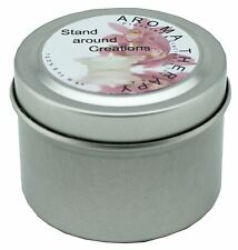 All Natural Soy Candle Tins 2oz with Essential & Natural Oils - Choose Scent