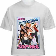 KOOLART  ONE DIRECTION T-SHIRT  CAN BE PERSONALISED KIDS/MENS/LADIES/ADULT