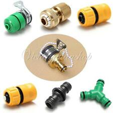 Garden Water Hose Pipe Connector Accessories Tubing Fittings Watering Plumbing F