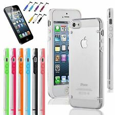 For iPhone 5/5S Transparent Crystal Clear Ultra Thin  Hard TPU Case Cover