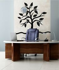 Vinyl Wall Decal Sticker Small Tree with Big Leaves 1106m 67W x 60H