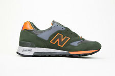 New Balance M577MOO Rain Mac Pack Green/Orange Sz 7-13 BNIB