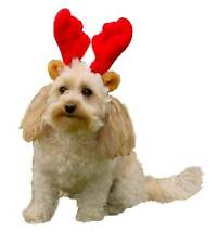 Holiday Christmas Red Antlers , Kyjen For Pet Dogs & Puppies Chose Size