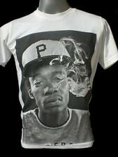 Wiz Khalifa T-shirt  S M L XL Rolling Papers Black And Yellow Taylor Gang #4