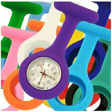 Brand New Silicone Case Nurse Medical Doctor Watch Brooch Tunic Fob Wholesale