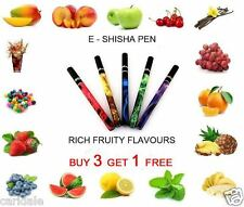 E SHISHA PEN  HOOKAH ELECTRONIC STICKS VAPOR SMOKE 500 PUFFS DISPOSABLE ESHISA