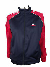 Boy's ADIDAS lightweight JACKET navy/red BNWOT