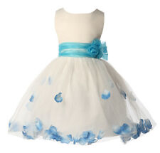 Flower Girl Bridesmaid Wedding Dresses Bridal Pageant Party Dress Ball Prom gown