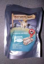 The Natural Way Fish Dog Treats Low Fat Omega 3 Hypo-Allergenic Gluten Free 1kg