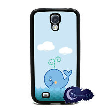 Happy Whale Case for Samsung Galaxy S4 SIV Phone Cover