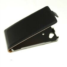 Deluxe Genuine Flip Leather Hard Case Cover Pouch For Sony Xperia Arc LT18i X12