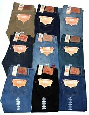 $74 LEVIS MENS JEANS~~~501 BUTTON FLY~~BIG & TALL WAIST 46 TO 60~~NEW WITH TAGS!