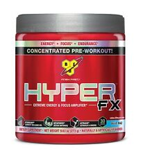 BSN HYPER FX Pre-Workout Power Energy Testosterone Booster 30 Servings