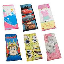 OFFICIAL DISNEY AND CHARACTER SLEEPING BAGS - NEW - CAMPING - KIDS - GIFT