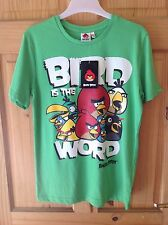 Bnwt Boys 11-12 Years Angry Birds T-Shirt Childrens Tops Kids Clothes Character