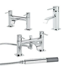 Single Lever Bathroom Taps Set Bath Filler Shower Mixer Mono Basin Sink Tap