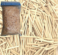 Natural Wooden Matchsticks For Model Making, Match Craft, Various Quantities