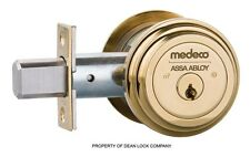 Medeco Maxum High Security Single Cylinder Deadbolt Lock Residential Commerical