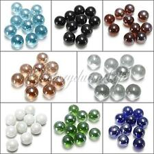 10 Pcs 16MM GLASS MARBLES TRADITIONAL SHOOTER GAME OR COLLECTORS ITEMS HOM MIXED