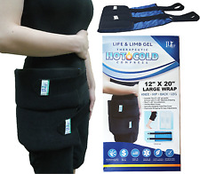 Back Lumbar Large XL Hot Thermal and Ice Cold Therapy Gel Pack Wrap