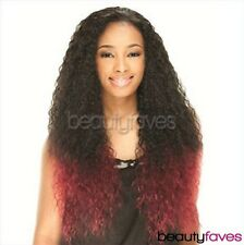 CYNTHIA BY SHAKE N GO FREETRESS EQUAL LACE FRONT SYNTHETIC LONG CURLY HAIR WIG