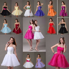New Short Mini Cocktail Formal Bridesmaid Prom Dress Party Dresses Holiday Gown