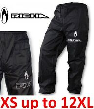 Richa Rain Warrior 100% Waterproof Over Trousers Motorcycle Motorbike Scooter