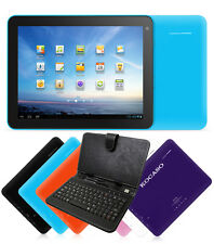 """KOCASO Tablet Android 4.1 8"""" Wifi Camera 4 GB 1.2Ghz PC Keyboard Bundle"""