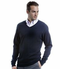 Leander Class Embroidered V-Neck Sweater