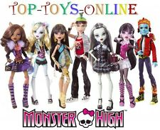 MONSTER HIGH Dolls All Rollerblade Clique Characters OVP MATTEL New