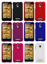 NEW RUBBERIZED PROTEX HARD CASE COVER FOR ALCATEL ONE TOUCH FIERCE 7024W PHONE