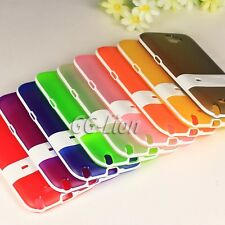 Silicone Stand TPU Skin Cover Case For Samsung Galaxy Note II, Note 2, GT-N7105