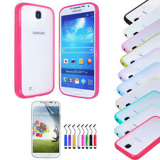 New Bumper Case Cover + Screen Protector + Stylus For Samsung Galaxy S4 i9500