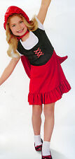 RED RIDING HOOD Fairy Tale Scary Halloween Costume Photo Prop C S,M,L