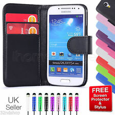 NEW WALLET PU LEATHER CASE COVER FOR SAMSUNG GALAXY S3 /S4 Mini SCREEN PROTECTOR