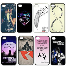 Sleeping With Sirens For iPhone 4 4S 5 5G 5S 5C Case Hard Plastic Back Cover